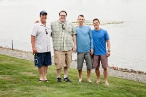 L to R (Chris, Me, Chad, Flynn)